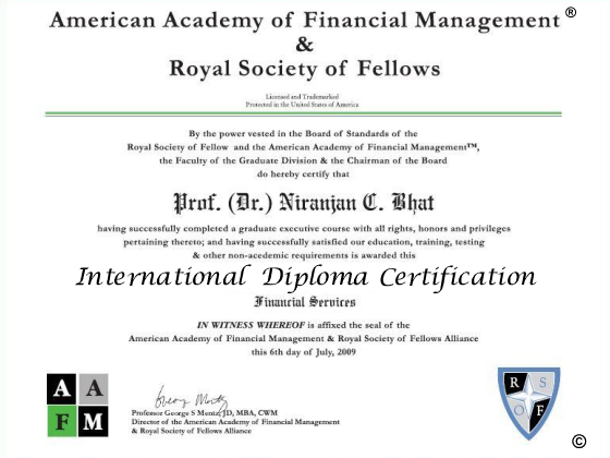 Wall Street Journal AAFM American Academy of Financial Management ...